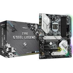 ASRock Z390 Steel Legend ATX Motherboard for Intel 1151 CPUs found on Bargain Bro UK from CCL COMPUTERS LIMITED