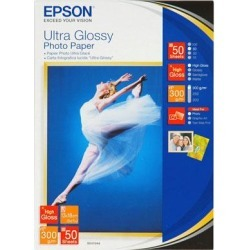 Epson (13 x 18cm) Ultra Glossy Photo Paper (50 Sheets) found on Bargain Bro UK from CCL COMPUTERS LIMITED