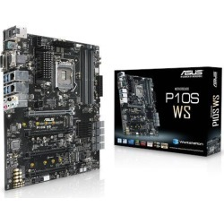 ASUS P10S WS ATX Motherboard for Intel LGA1151 CPUs found on Bargain Bro UK from CCL COMPUTERS LIMITED