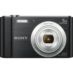Sony Cyber-shot W800 (20.1MP) Digital Camera 5x Optical Zoom 2.5 inch LCD Screen (Black)