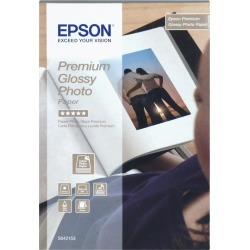 Epson Premium (10cm x 15cm) 255g/m2 Glossy Photo Paper (White) 1 Pack of 40 Sheets found on Bargain Bro UK from CCL COMPUTERS LIMITED