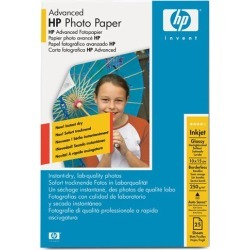 HP Advanced (10 x15cm) Glossy Photo Paper Borderless (25 Sheets) 250gsm (White) found on Bargain Bro UK from CCL COMPUTERS LIMITED