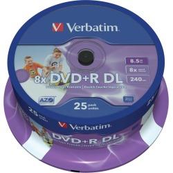 Verbatim DVD+R 8x Dual Layer Print