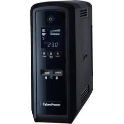 CyberPower PFC Sinewave UPS 900VA 900W Schuko Green Power LCD USB (UK) + Elaborate Power Management Software