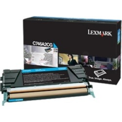 Lexmark Corporate (Yield: 7,000 Pages) Cyan Toner Cartridge for C746/C748 Printers found on Bargain Bro UK from CCL COMPUTERS LIMITED
