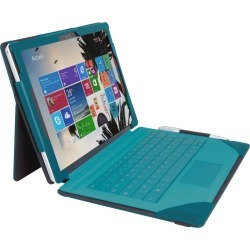 Urban Factory Folio Tablet Case (Blue/Green) for Microsoft Surface 4/Surface Pro found on Bargain Bro UK from CCL COMPUTERS LIMITED