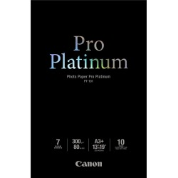 Canon PT-101 (A3+) 300gsm Pro Platinum Photo Paper (Pack of 10 Sheets) found on Bargain Bro UK from CCL COMPUTERS LIMITED