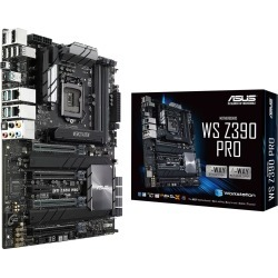 ASUS WS Z390 PRO ATX Motherboard for Intel LGA1151 CPUs found on Bargain Bro UK from CCL COMPUTERS LIMITED