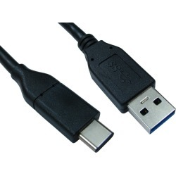 Cables Direct (1m) USB 3.1 Type-C Male to Type-A Male Cable