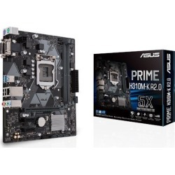 ASUS PRIME H310M-K R2.0 mATX Motherboard for Intel LGA1151 CPUs found on Bargain Bro UK from CCL COMPUTERS LIMITED
