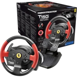 Thrustmaster T150 Ferrari Racing Wheel and Pedal Set found on Bargain Bro UK from CCL COMPUTERS LIMITED