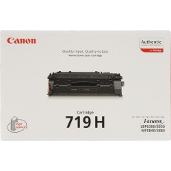 Canon 719H (Yield: 6,400 Pages) High Yield Black Toner Cartridge found on Bargain Bro UK from CCL COMPUTERS LIMITED