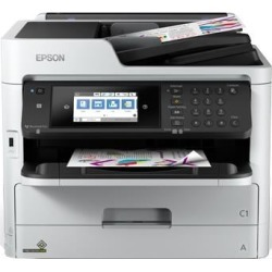 Epson WorkForce Pro WF-C5710DWF (A4) Colour Inkjet Printer (Print/Copy/Scan/Fax) 10.9cm Colour LCD 34ppm (Mono) 34ppm (Colour) 45,000 (MDC) found on Bargain Bro UK from CCL COMPUTERS LIMITED
