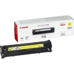 Canon 716 (Yield: 1,500 Pages) Yellow Toner Cartridge found on Bargain Bro UK from CCL COMPUTERS LIMITED