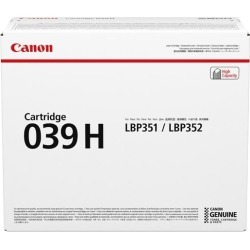 Canon 039H (Yield 25,000 Pages) High Yield Black Toner Cartridge for i-SENSYS LBP351/LBP352 Printers found on Bargain Bro UK from CCL COMPUTERS LIMITED