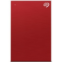 Seagate Backup Plus Slim 2TB Mobile External Hard Drive in Red
