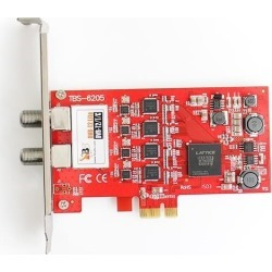 TBS 6205 Quad Terrestrial HD Low Profile PCIe TV Tuner Card DVB-T2 found on Bargain Bro UK from CCL COMPUTERS LIMITED