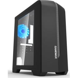 GameMax Centauri Mid Tower Gaming Case - Black USB 3.0