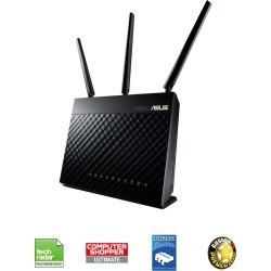 ASUS RT-AC68U AI MESH AC1900 Dual-Band Router 4-port Wireless found on Bargain Bro UK from CCL COMPUTERS LIMITED