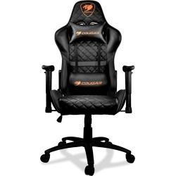 Cougar Armor One Gaming Chair in Black