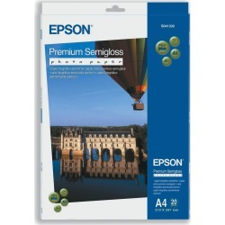 Epson Premium (A4) 251g/m2 Semi-Gloss Photo Paper (White) 1 Pack of 20 Sheets found on Bargain Bro UK from CCL COMPUTERS LIMITED