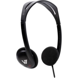 V7 HA300 Standard Lightweight Stereo Headphones found on Bargain Bro UK from CCL COMPUTERS LIMITED
