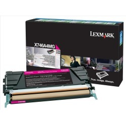 Lexmark Return Program (Yield: 7000 Pages) Magenta Toner Cartridge for X746/X748 Printers found on Bargain Bro UK from CCL COMPUTERS LIMITED