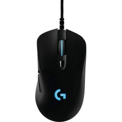 Logitech Prodigy G403 Wired Programmable Gaming Mouse with HERO 16K Sensor and LIGHTSYNC RGB Lighting