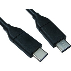 Cables Direct (1m) USB 3.1 Type-C Male to Type-C Male Cable