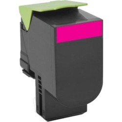 Lexmark Return Program 802M (Yield: 1,000 Pages) Magenta Toner Cartridge found on Bargain Bro UK from CCL COMPUTERS LIMITED