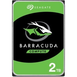 "Seagate BarraCuda 2TB SATA III 3.5"" Hard Drive - 7200RPM, 256MB"