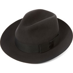 Knightsbridge Fedora Hat - DGREY Bessemer in size 60 found on Bargain Bro UK from christys-hats.com