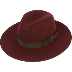 Soho Trilby Hat - Maroon in size 60 found on Bargain Bro UK from christys-hats.com