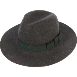 Soho Trilby Hat - MIXG-Charcoal Mi in size 62 found on Bargain Bro UK from christys-hats.com