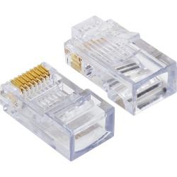 Platinum Tools 100003C EZ-RJ45 Cat5/5e Connectors, 50 Pc. Clamshell