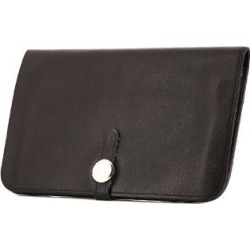 Portefeuille Hermes Dogon - Pocket Hand en cuir Swift noir found on Bargain Bro India from Collector Square for $1144.00