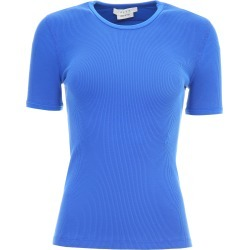 ALYX RIBBED COTTON T-SHIRT XS Blue Cotton found on Bargain Bro Philippines from Coltorti Boutique for $110.93