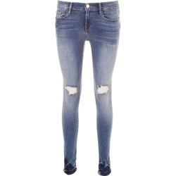 FRAME LE SKINNY DE JEANNE JEANS 27 Blue, Light blue Cotton found on Bargain Bro India from Coltorti Boutique for $174.87