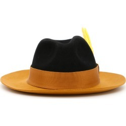 RUSLAN BAGINSKIY FELT HAT L Black, Brown, Beige Wool found on Bargain Bro India from Coltorti Boutique for $95.39
