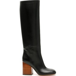MARNI LEATHER BOOTS 40 Black Leather found on Bargain Bro Philippines from Coltorti Boutique for $604.67