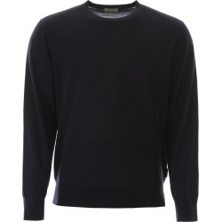 Z ZEGNA WOOL PULLOVER S Blue Wool found on MODAPINS from Coltorti Boutique AU for USD $165.20