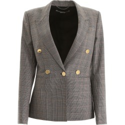 STELLA McCARTNEY PRINCE OF WALES JACKET 38 Black, Beige, Brown Wool found on Bargain Bro Philippines from Coltorti Boutique for $597.39