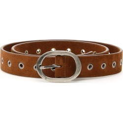MASSIMO ALBA MICHAEL2 SUEDE BELT S Brown Leather found on Bargain Bro Philippines from Coltorti Boutique EU for $186.55