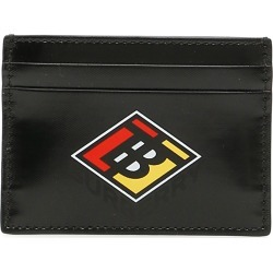 BURBERRY SANDON CARDHOLDER OS Black Cotton, Technical found on Bargain Bro India from Coltorti Boutique EU for $247.00