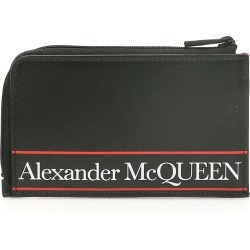 ALEXANDER MCQUEEN LOGO POUCH OS Black, White, Red Leather found on Bargain Bro India from Coltorti Boutique EU for $442.00