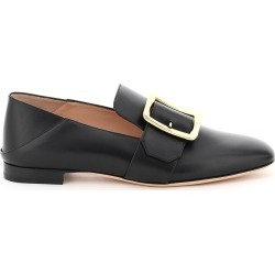 BALLY JANELLE LEATHER LOAFERS 37 Black Leather found on MODAPINS from Coltorti Boutique AU for USD $509.00