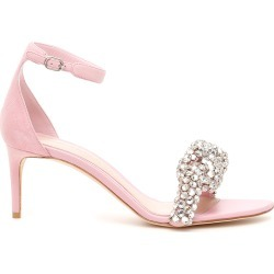 ALEXANDER MCQUEEN CRYSTAL KNOT SANDALS 37 Pink Leather found on Bargain Bro Philippines from Coltorti Boutique for $1263.90