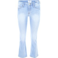 FRAME LE CROP MINI BOOT JEANS 28 Blue Cotton, Denim found on Bargain Bro Philippines from Coltorti Boutique for $166.16