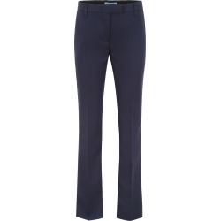 PRADA FORMAL TROUSERS WITH LOGO 40 Blue Cotton found on MODAPINS from Coltorti Boutique EU for USD $371.80