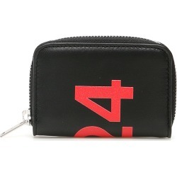 424 CARDHOLDER POUCH WITH LOGO OS Black, Red Leather found on Bargain Bro India from Coltorti Boutique EU for $376.99